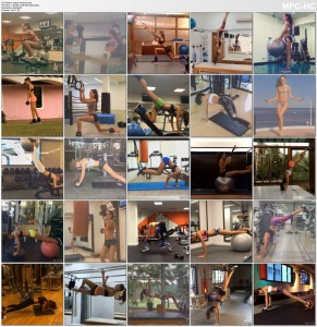 Izabel Goulart - Instagram Workout Compilation