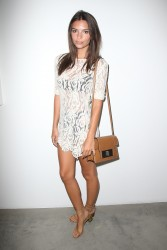 Emily Ratajkowski - Desert Voices Opening Exhibition, De Re Gallery 7/16/15