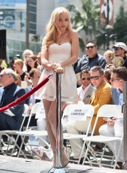 Dove Cameron - Kristin Chenoweth star on the Hollywood Walk of Fame ceremony - July 24, 2015