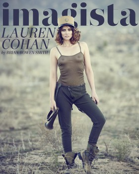 Lauren Cohan - Imagista Cover Options x 3
