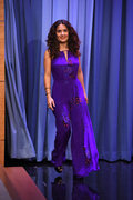 Salma Hayek - The Tonight Show With Jimmy Fallon Taping (8/06/15)
