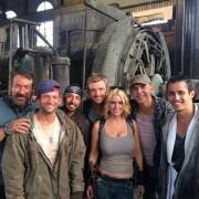 Carrie Keagan - Busty on the Set of Dead 7