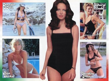 Jaclyn Smith & Others: 70's Beauties Swimsuit Collage: HQ x 1