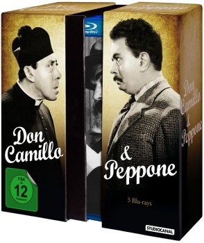 Don Camillo & Peppone Special Edition Box (1952-1965) [5 Blu-Ray] Full Blu Ray AVC DTS-HD MA 2.0