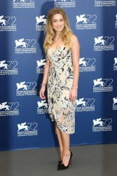 "Amber Heard - ""The Danish Girl"" Photocall at 2015 Venice Film Festival 9/5/15"