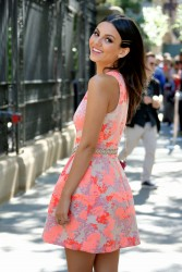 Victoria Justice - Carolina Herrera Fashion Show in NYC - 9/14/15