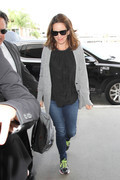 Tina Fey - arriving at LAX 09/21/2015