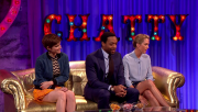 Kate Mara & Kristen Wiig @ Alan Carr - Chatty Man | September 25 2015