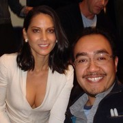 Olivia Munn With a Fan at PaleyFest 2013 in L.A. - 3/3/13