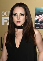 "Elizabeth Gillies - premiere screening of FX's ""American Horror Story: Hotel"" 10/03/15"