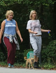 Jennifer Lawrence & Amy Schumer - Out & About in Atlanta 10/4/15