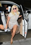 Lady Gaga arrives at Lax Airport in Los Angeles - October 5-2015 x15