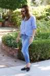 Jennifer Garner picks up her girls amid pregnancy rumors October 6-2015 x6