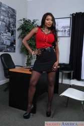 Diamond Jackson - Naughty Office (10/13/15) x90