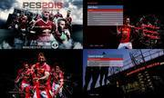 Download PES2016 Manchester United Menu Graphic by asnann