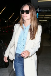 Olivia Wilde - At LAX Airport 10/2/15