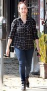 Kat Dennings - Out & About in West Hollywood 10/17/15