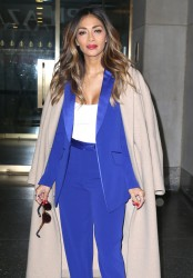 Nicole Scherzinger - Leaving The Today Show in NYC 10/20/15