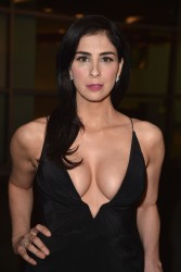 Sarah Silverman at the I Smile Back Premiere in Hollywood - 10/21/15