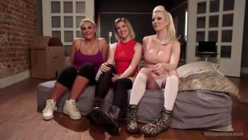 Cherry Torn, Phoenix Marie and Ella Nova