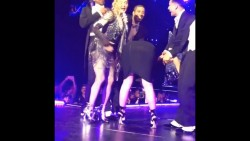 Katy Perry Spanked, Humped & Upskirt @ Madonna Concert 10/27/2015 [1080p]