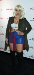 Dascha Polanco - 16th Annual Heidi Klum Halloween Party in NYC 10/31/15