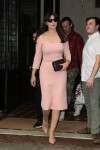 Monica Bellucci in pink leaves her hotel to NBC Today show November 5-2015 x28