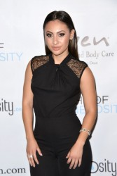 Francia Raisa - 7th Annual Night of Generosity Gala in Beverly Hills 11/6/15