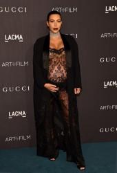 Kim Kardashian - LACMA 2015 Art+Film Gala Honoring James Turrell And Alejandro G Inarritu 11/7/15