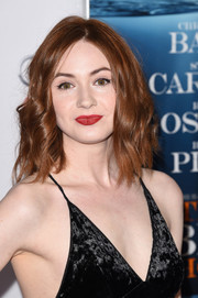 "Karen Gillan- attends the closing night gala premiere of Paramount Pictures' ""The Big Short"" 11/12/15"