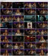 Olivia Wilde, Saoirse Ronan & Melissa Benoist @ The late Late Show with James Corden | November 12 2015