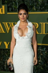Salma Hayek at the Evening Standard Theatre Awards in London - 11/22/15