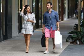Eva Longoria shopping at Bal Harbour 25 November 2015 x30