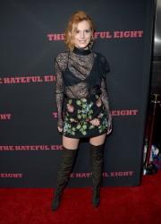 """MEGA POST: Bella Thorne con espectaculares botas en el estreno de """"The Hateful Eight"""" en Los Angeles (7/12/15) 399a35451534445"""