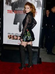 """MEGA POST: Bella Thorne con espectaculares botas en el estreno de """"The Hateful Eight"""" en Los Angeles (7/12/15) Bb845c451534459"""
