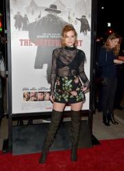 """MEGA POST: Bella Thorne con espectaculares botas en el estreno de """"The Hateful Eight"""" en Los Angeles (7/12/15) 50aff5451548639"""