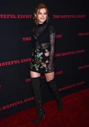 """MEGA POST: Bella Thorne con espectaculares botas en el estreno de """"The Hateful Eight"""" en Los Angeles (7/12/15) 1f661c451555388"""