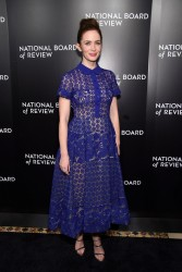 Emily Blunt - 2015 National Board of Review Gala in NYC 1/5/16