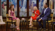 Emmy Rossum @ Live with Kelly & Michael | January 7 2016
