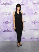 Catherine Bell - Hallmark Channel #Winterfest party at the 2016 Winter TCA Tour 8.1.2016