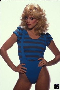 Judy Landers: Ultra Sexy In Leotards: UHQ x 2