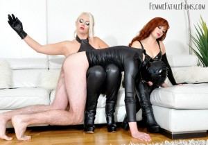 FemmeFataleFilms - Mistress Heather, Lady Mia Harrington - Belittled, Bullied and Busted complete