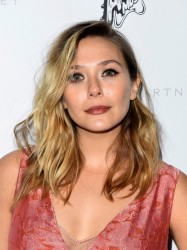 Elizabeth Olsen - Stella McCartney Autumn 2016 Presentation in LA 1/12/16