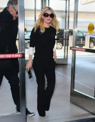 Jessica Simpson - At JFK Airport 1/13/15