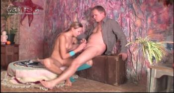 Galitsin Alice With Old Man 17