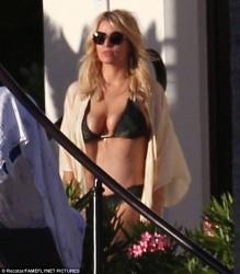 Jessica Simpson Wearing a Bikini in Cabo San Lucas - 1/17/16