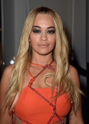 Rita Ora - Versace Haute Couture Spring Summer 2016 Fashion Show in Paris 1/24/16
