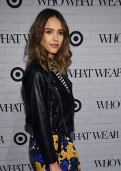 Jessica Alba - Who What Wear x Target Launch Party in NYC 1/27/16