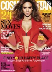 Jessica Alba - Cosmopolitan Magazine - March 2016