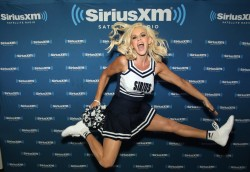 Jenny McCarthy at SiriusXM's Super Bowl 50 Radio Row Set in San Francisco - 2/5/16